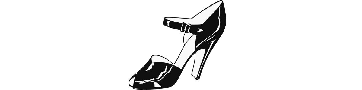 "High heel shoe illustration - ""Get Your Money's Worth"" flash fiction"
