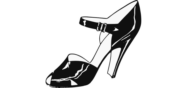 "High heel shoe illustration - ""Get Your Money's Worth"" flash fiction"