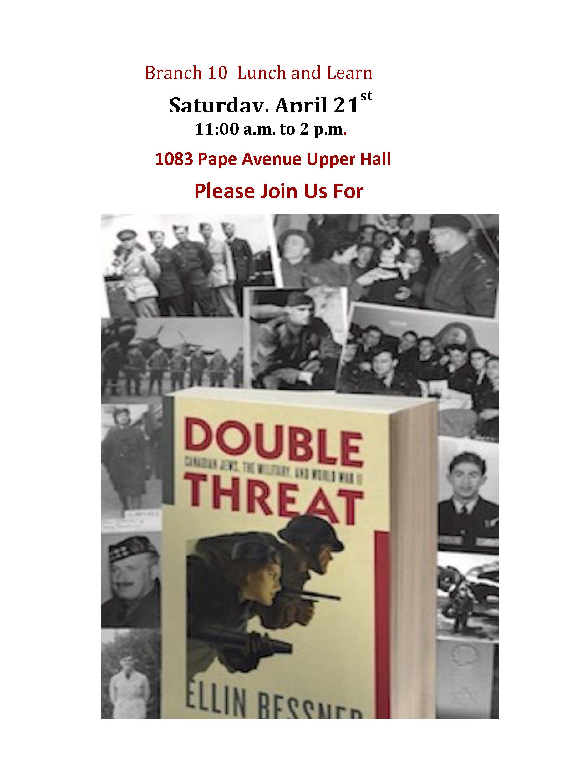 Todmorden Mills Branch Royal Canadian Legion event