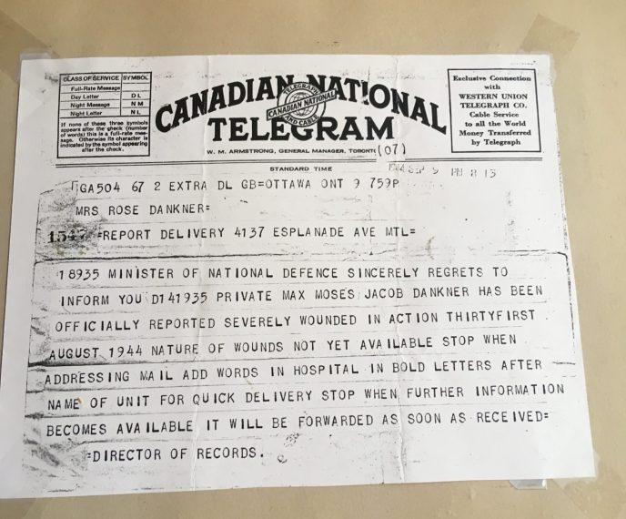 telegram WWll