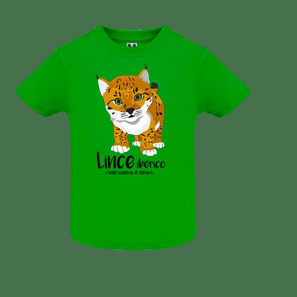 camiseta cachorro 1 mes de lince ibérico