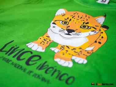 Camiseta cachorro lince ibérico