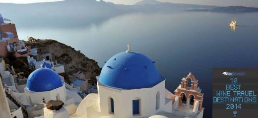 Greece at the list with the 10 best wine destinations