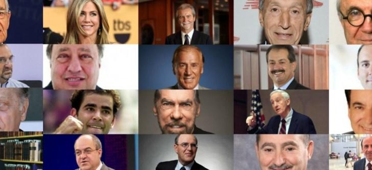 Οι 50 πλουσιότεροι ομογενείς των ΗΠΑ