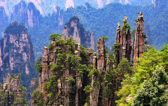 Tianzi Mountains—China