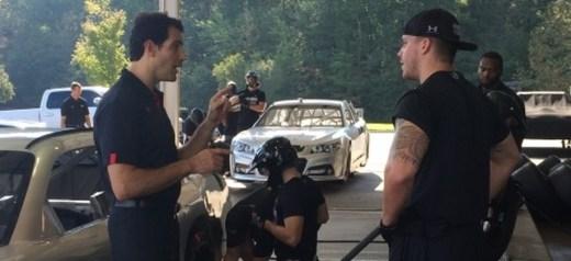 Ο πρώτος προπονητής pit stop στους αγώνες NASCAR