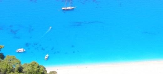 Greek beach has the bluest water in the world