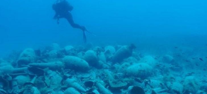 Σημαντικά ευρήματα από την υποβρύχια αρχαιολογική έρευνα