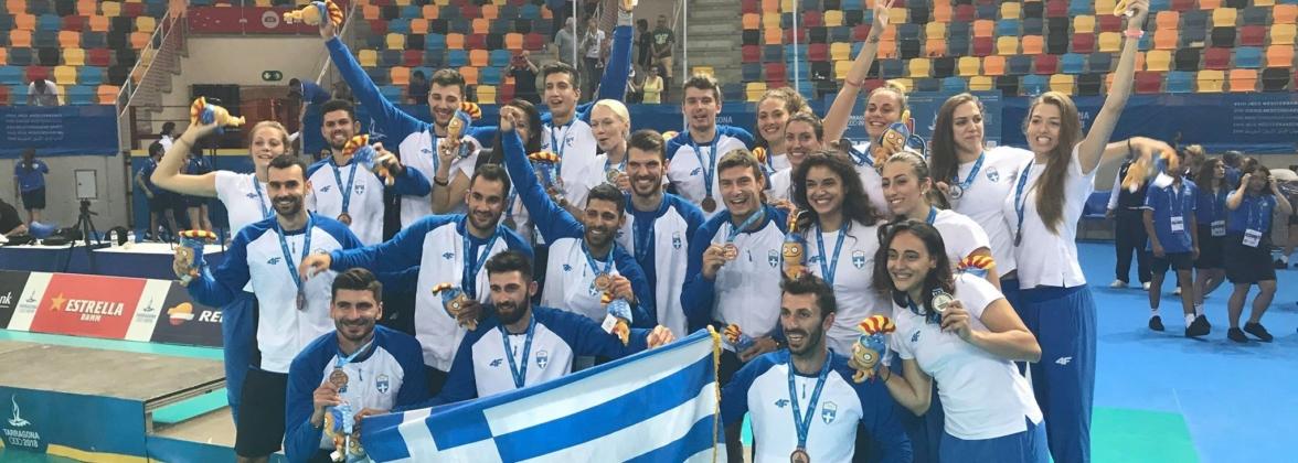 Η ελληνική αποστολή