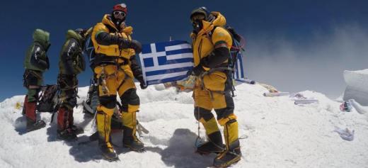 Ο πρώτος Έλληνας που κατέκτησε τρία βουνά του ορειβατικού «Γκραντ Σλαμ»