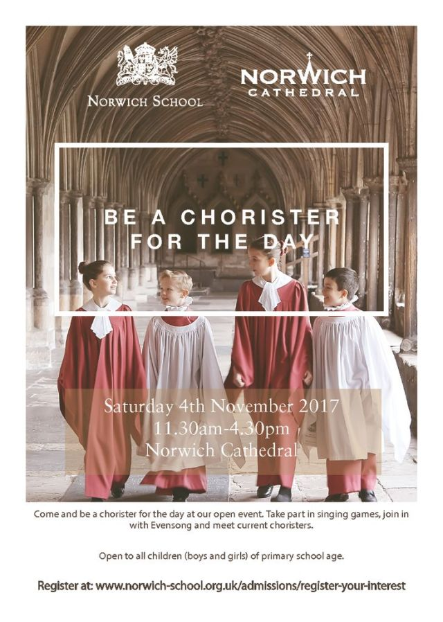 thumbnail of Be a Chorister Flyer