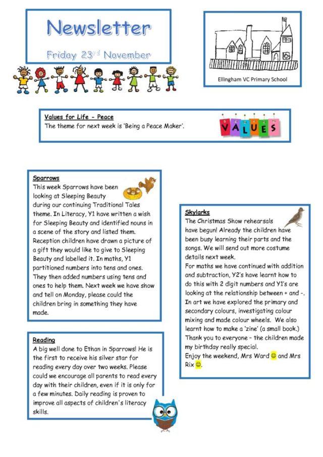 thumbnail of Newsletter 23.11.18