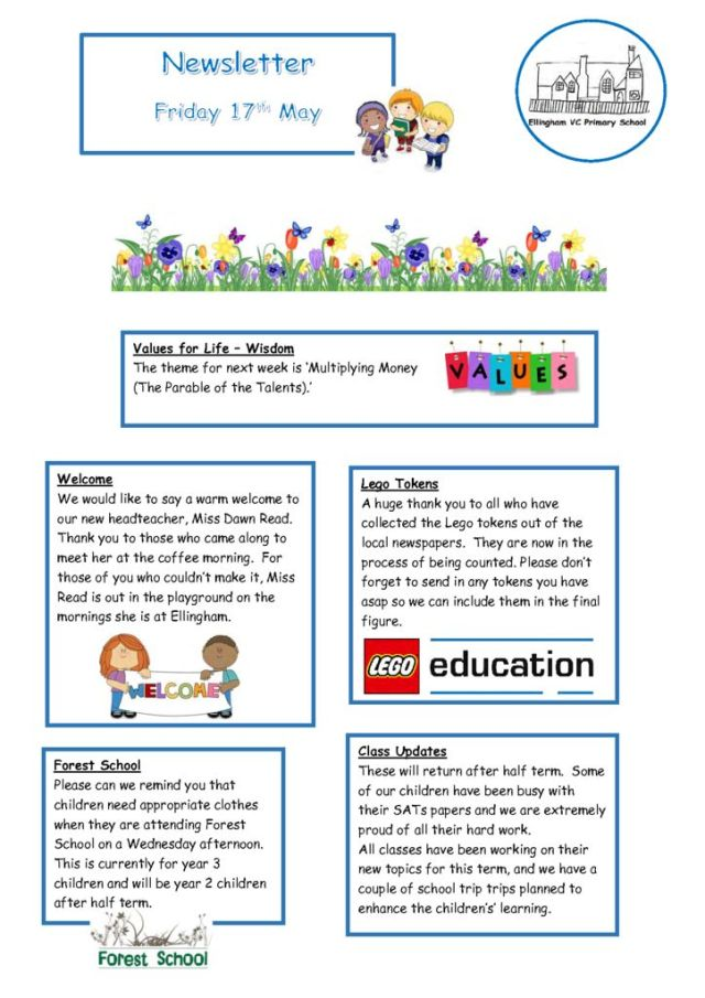 thumbnail of Newsletter 17.05.19