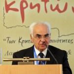 Ο Πρόεδρος της Οργανωτικής Επιτροπής του Συνεδρίου, πρώην υπουργός Νίκος Σκουλάς