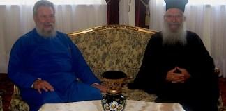 Ο Σεβασμιώτατος Αρχιεπίσκοπος Θυατείρων και Μεγάλης Βρετανίας στην Ιερά Αρχιεπισκοπή Κύπρου