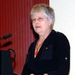 Dr. Sigrid Skarpelis-Sperk, Präsidentin der Vereinigung deutsch-griechischer Gesellschaften (VDGG)