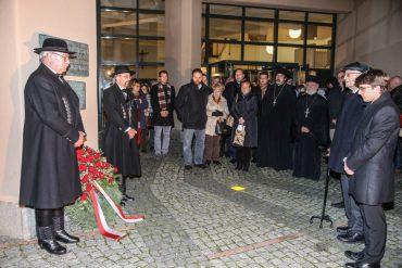 Stadt Dachau, Rathaus, Gedenkfeier zur Pogromnacht , npj/Foto: Jørgensen