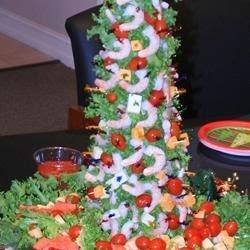 Seafood – Marys Christmas Shrimp Tree