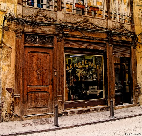 Antique Store, Valencia, Spain