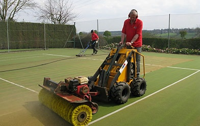 EnTC Tennis Courts - Tennis court cleaning,