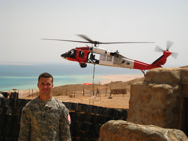 Elliott Garber Egypt with Blackhawk