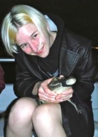 Price-Dickson-veterinary-student-Belize-crocodile