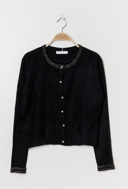 zwarte cardigan