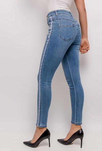 skinny jeansbroek