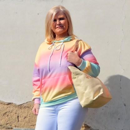 Ellip-sis regenboogsweater