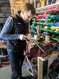 Preparing the lugs
