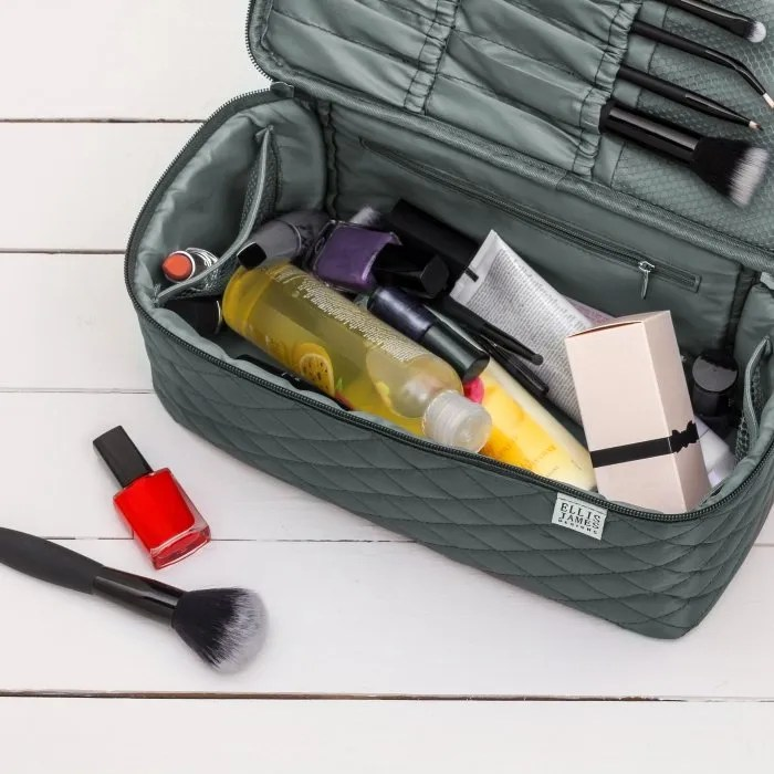 Grey Large Cosmetic Organizer