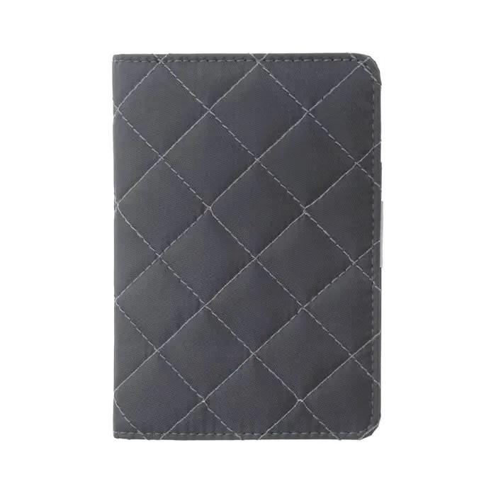 Grey Travel Passport Keeper