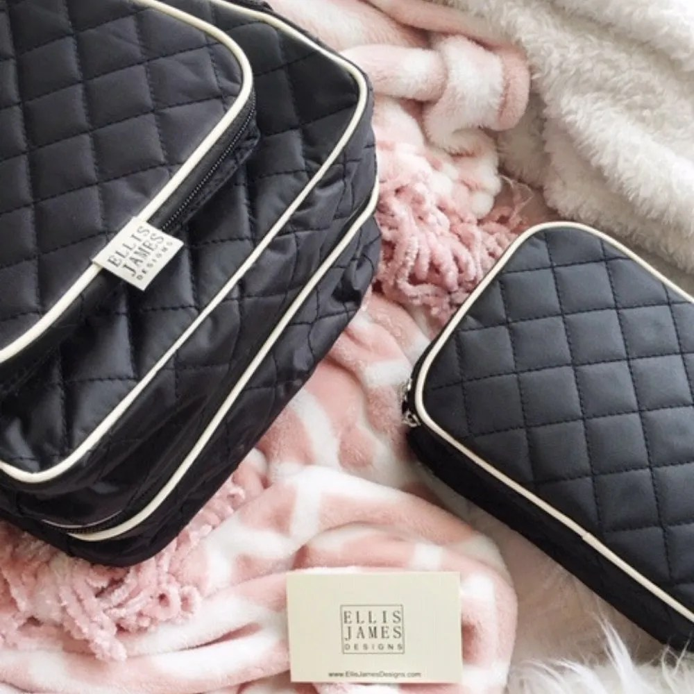 Cierra Ellis James Designs Babe Hanging Organizer and Jewelry and Makeup Bag