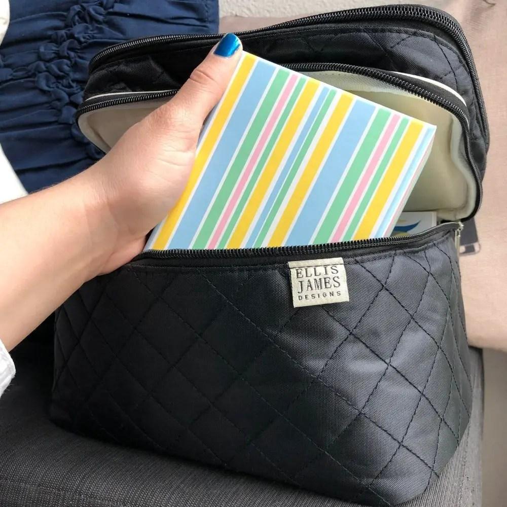 Sarah Mariana - Ellis James Designs Babes Tall Cosmetic Bag