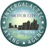 Motor City Alien Mail Order Brides Logo