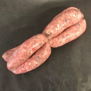 6 x Hand made Pork and Black Pudding Sausages