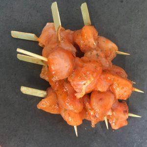 Chicken Breast Kebab Sweet Chilli