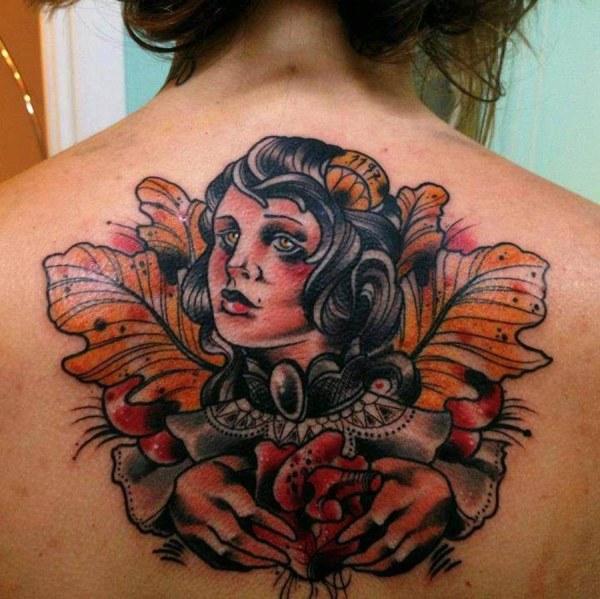 На спине | Тату фото | Галлерея идей для татуировок ...
