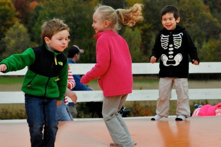 Jumping Pad provides hours of fun for kids!