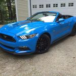 On The Road Review Ford Mustang Gt Convertible The Ellsworth Americanthe Ellsworth American