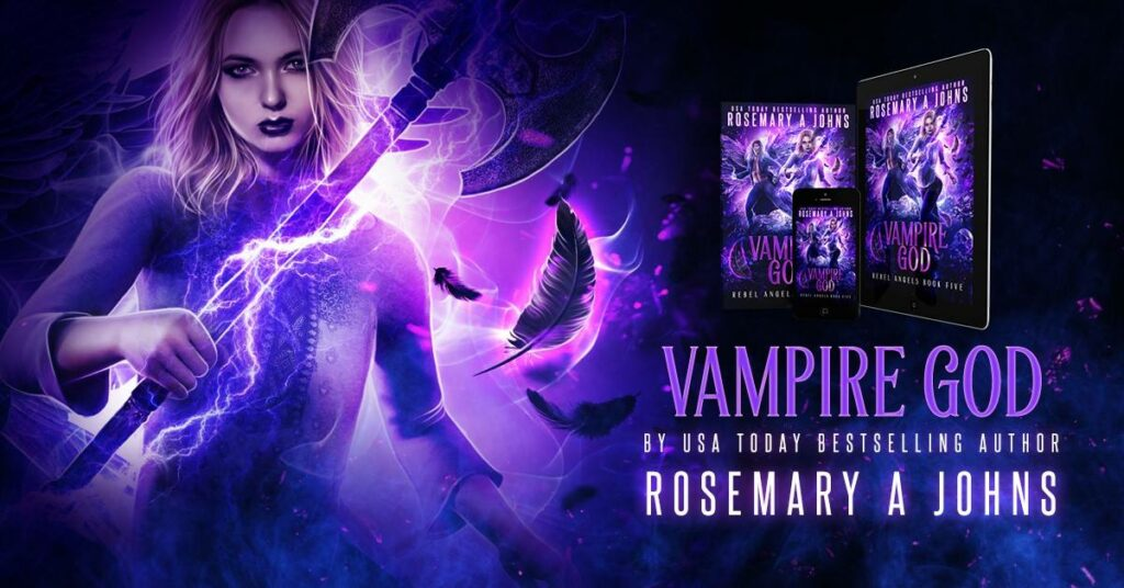 Resemary Johns New Release: Vampire God