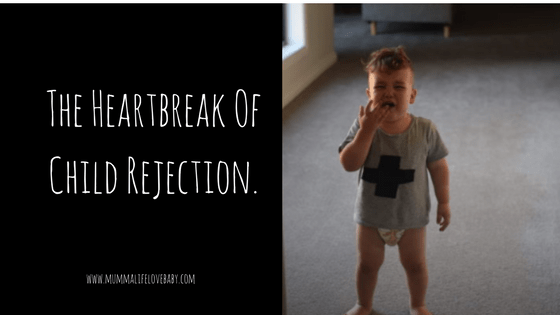 The Heartbreak Of Child Rejection.