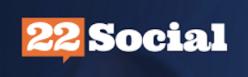 22Social logo gde