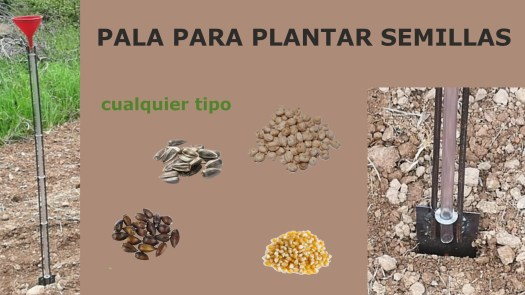 imagen pala plantar semillas