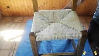 silla encordada