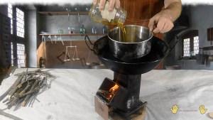 añadimos el aceite de tung