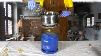 olla a utilizar para realizar el fosfatado