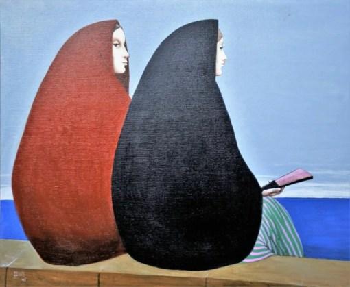 De las Casas Manuel, Frente al mar, pintura oleo lienzo, 73×60 cms. (5)