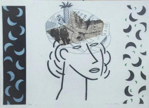 Bellver Fernando, Primavera, litografia, edición 100 ejemplares, numerado y firmado a lápiz, 35×49 cms. (7)