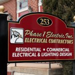 Custom Carved Sign for a Contractor in West Chester, PA